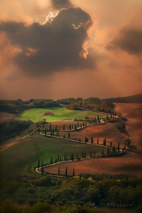 Toscane : La Strada…